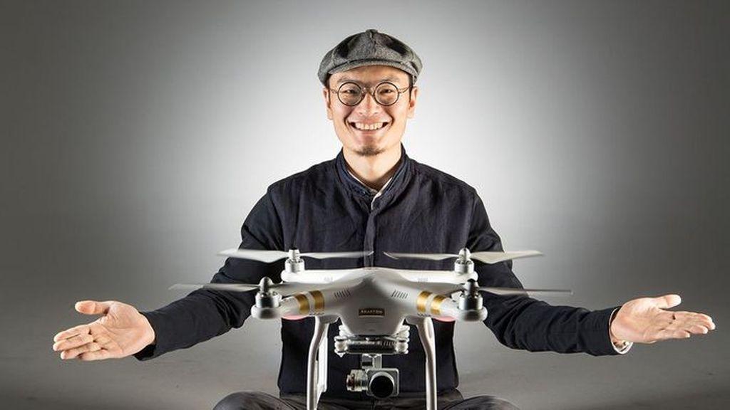Da-Jiang Innovations Science and Technology Co atau biasa disebut DJI adalah produsen drone terkemuka yang berbasis di Shenzen, China. Didirikan tahun 2006, saat ini belum ada yang dapat menandingi kualitas dan jangkauan pasar DJI di bisnis drone. Foto: Istimewa