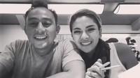 Keduanya juga mengunggah momen-momen kemesraannya di sana. (Dok. Instagram/nikitamirzanimawardi_17)