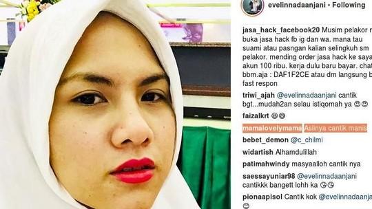 Ketika Si Tomboi Evelyn Berhijab, Aming Siap Luluh Lagi Nggak Nih?