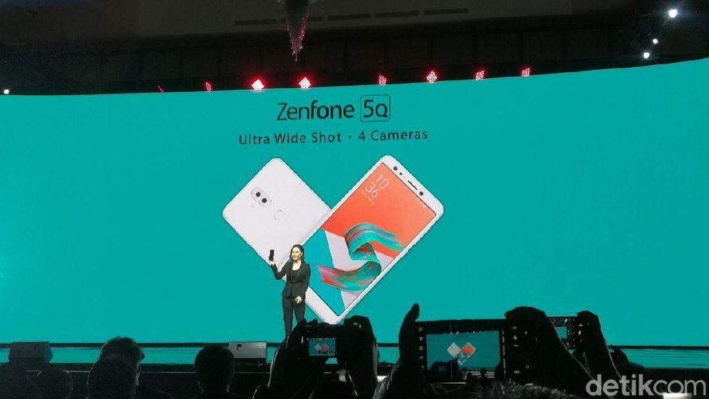 Baik Zenfone 5Q maupun ZenfoneMax punya keunggulan masing-masing. Foto: Muhammad Alif Goenawan/detikINET