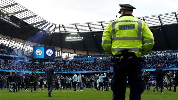 Stadoon City of Manchester yang berubah nama menjadi Stadion Etihad. (