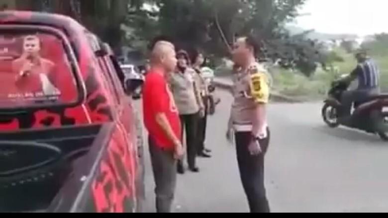 Awal Mula Ketua PDIP Bima Bentak dan Maki Polisi