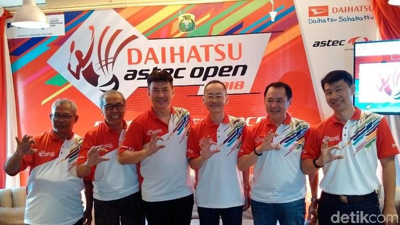 Turnamen Bulutangkis Astec Terbuka 2018 Sambangi Yogyakarta