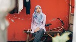 Tika Bravani dan Dion Wiyoko di Syukuran Film Hijab