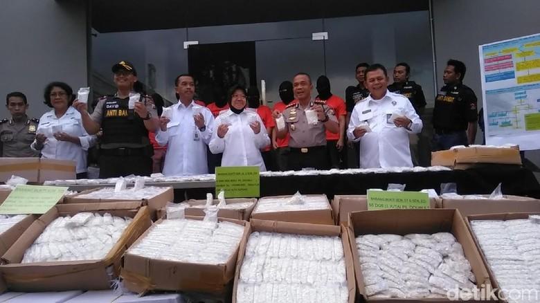 Polisi Amankan Jutaan Pil Koplo Senilai Rp 2,5 Miliar