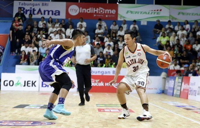 Final Indonesian Basketball League (IBL) 2017/2018 digelar di Gelanggang Mahasiswa Soemantri Brodjonegoro, Kuningan, Minggu (22/4/2018).