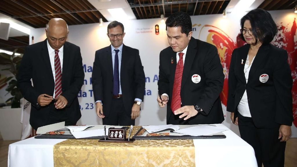 AXA Mandiri Jadi Ffficial Partner Tim Indonesia di Asian Games