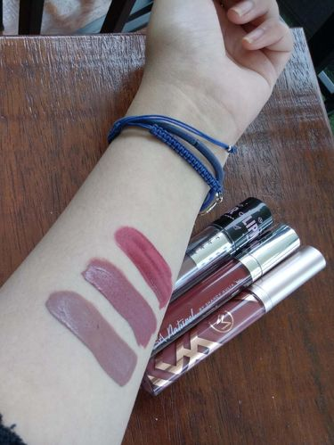 Review 3 Lipstik Artis: Jedar, Shandy Aulia & Nana Mirdad