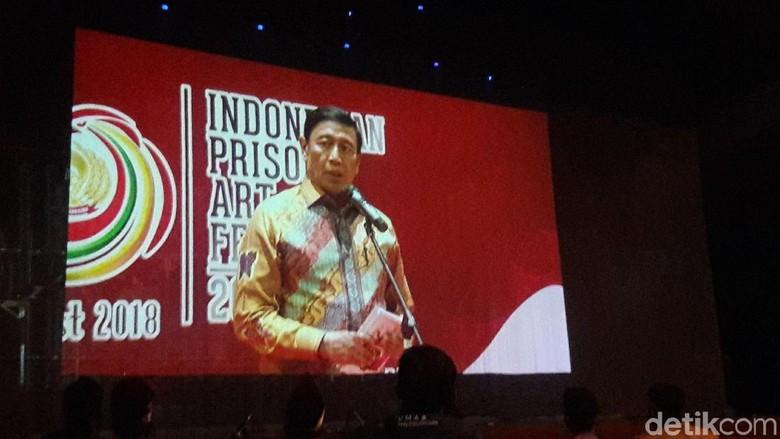 Hadiri IPAFest 2018, Wiranto: Karya Para Napi Ini Istimewa