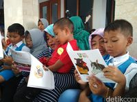 Keren, 1.000 Anak Ikuti Even Baca Buku Massal di Tulungagung