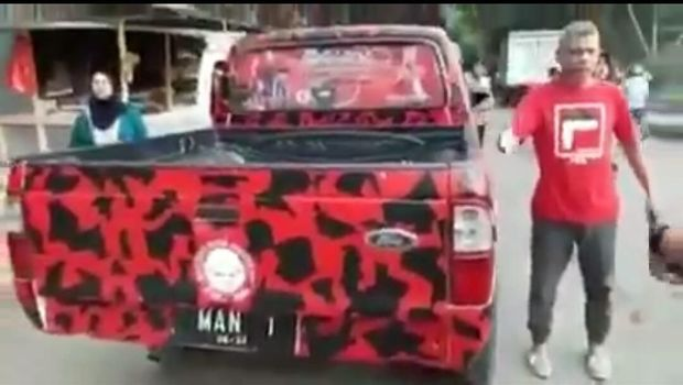 Videonya Viral, Ketua PDIP Bima yang Bentak Polisi Dicopot