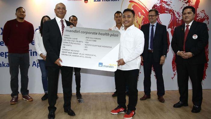 Atlet Indonesia mendapat asuransi saat berlaga di Asian Games 2018. (Foto: Agung Pambudhy/detikcom)