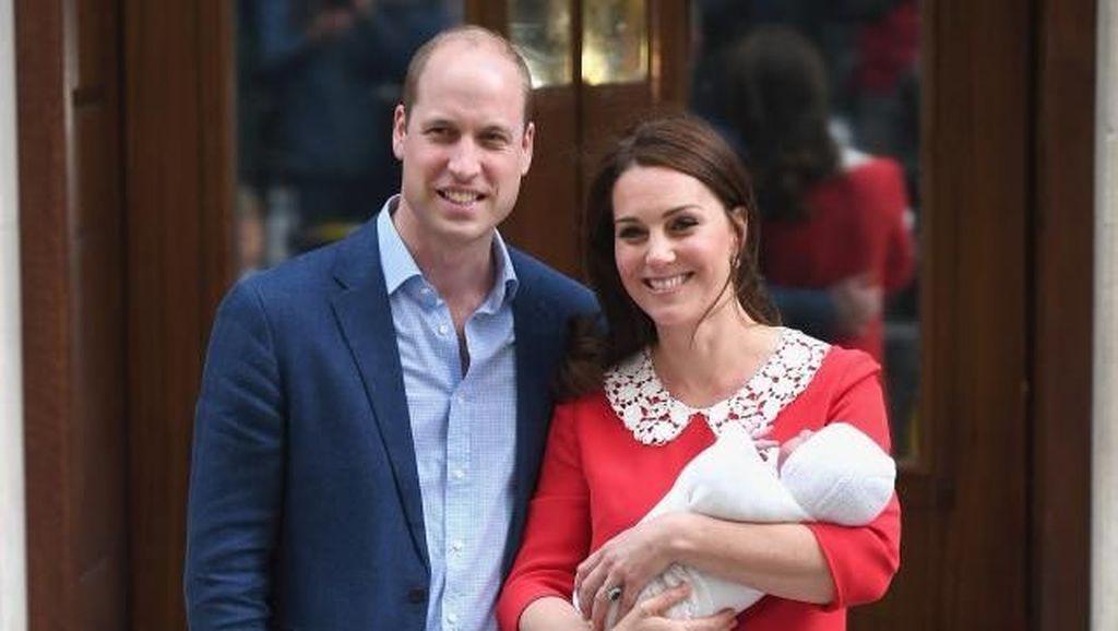 Bikin Penasaran, Kapan Nama Bayi Pangeran William-Kate Middleton Diumumkan?