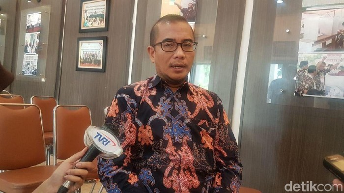Komisioner KPU Hasyim Asyari Foto: Dwi Andayani/detikcom