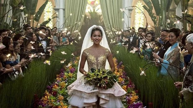 salah satu adegan dalam film Crazy Rich Asians.