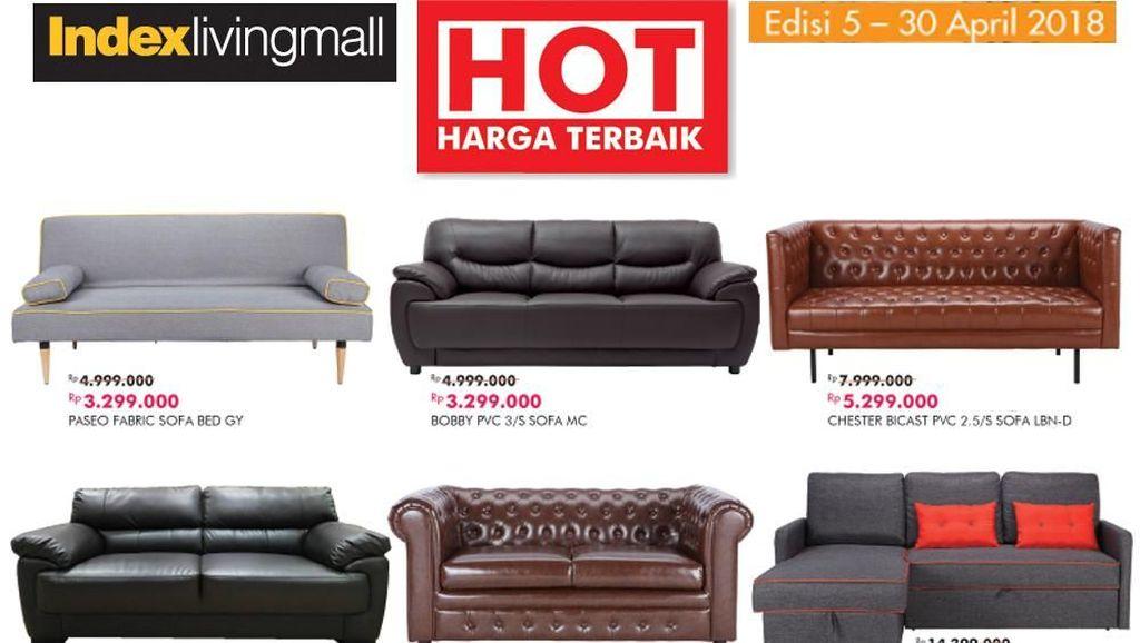 Sofa Cantik Turun Harga di Index Living Mall