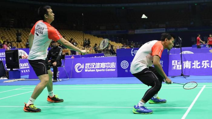 Hendra Setiawan/Mohammad Ahsan lolos ke babak utama Kejuaraan Asia 2018 (Foto: Tim Humas Dan Media PP PBSI)