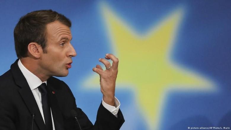Emmanuel Macron dan Donald Trump Akan Bahas Soal Iran dan Suriah