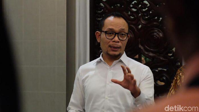 Menteri Ketenagakerjaan Hanif Dhakiri/Foto: Andhika Prasetia/detikcom