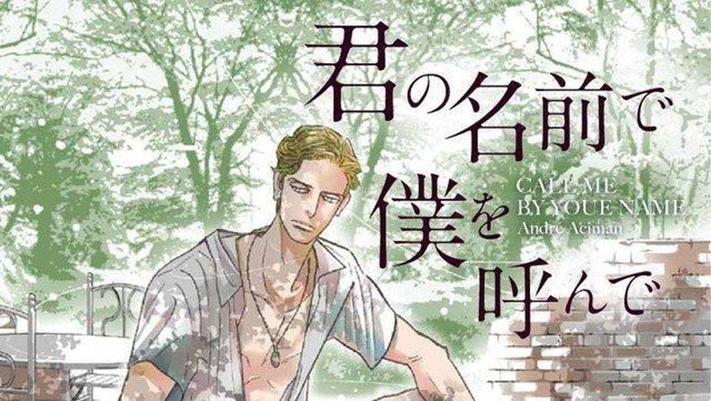 Novel Call Me By Your Name Terbit dalam Bahasa Jepang