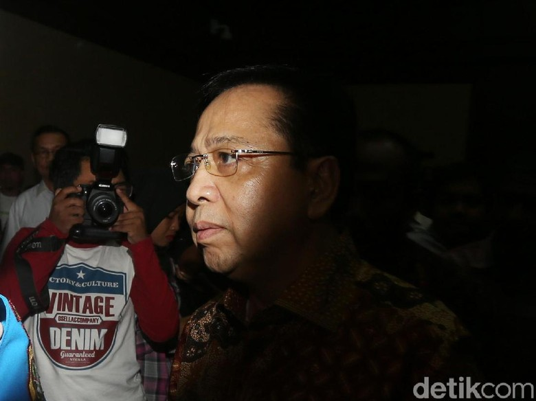 Setya Novanto Akan Jadi Saksi di Sidang Bimanesh