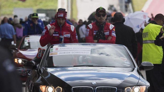 Ducati mengecewakan di Austin, tapi Andrea Dovizioso memimpin klasemen. (Foto: Getty Images/Getty Images)