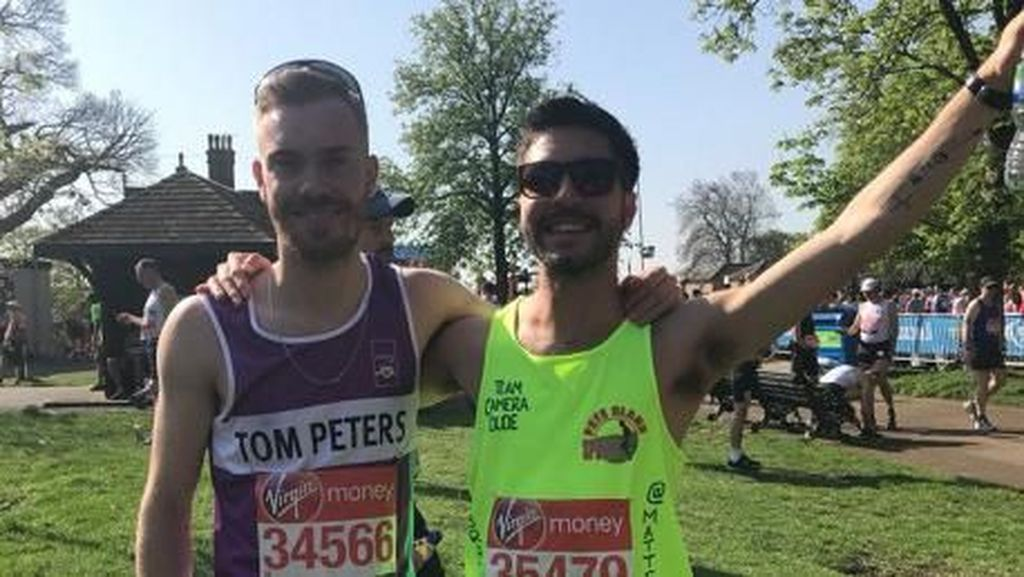 Bintang MasterChef Kolaps Saat Lomba London Marathon