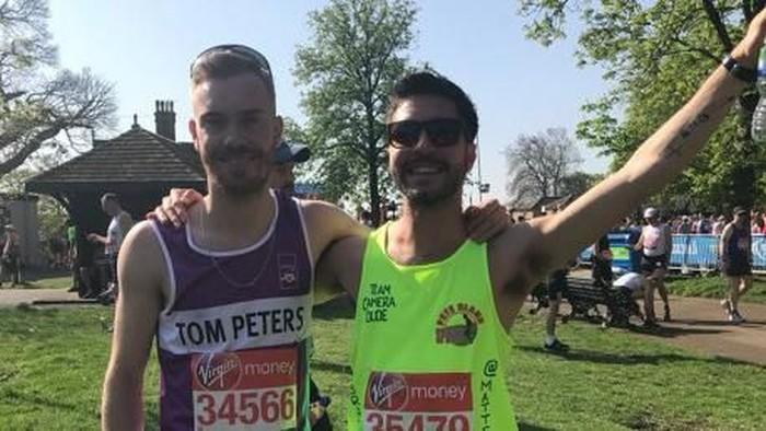 Matt Campbell kolaps dan meninggal setelah mengikuti marathon. (Foto: Twitter)