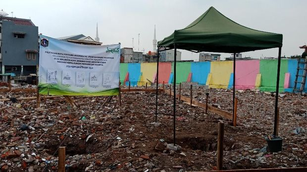 Wali Kota Jakut resmikan peletakan batu pertama musala Kampung Akuarium