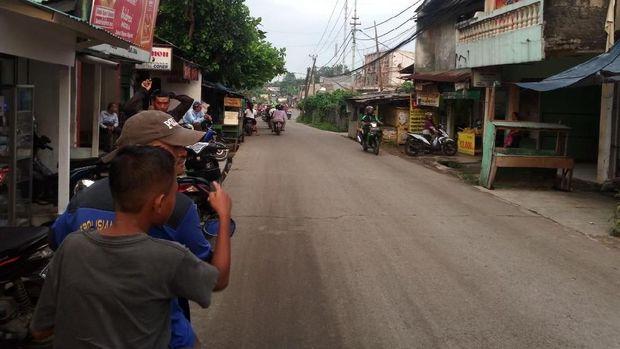 Lokasi Jalan Nangka, Tapos, Depok yang terindikasi dikorupsi