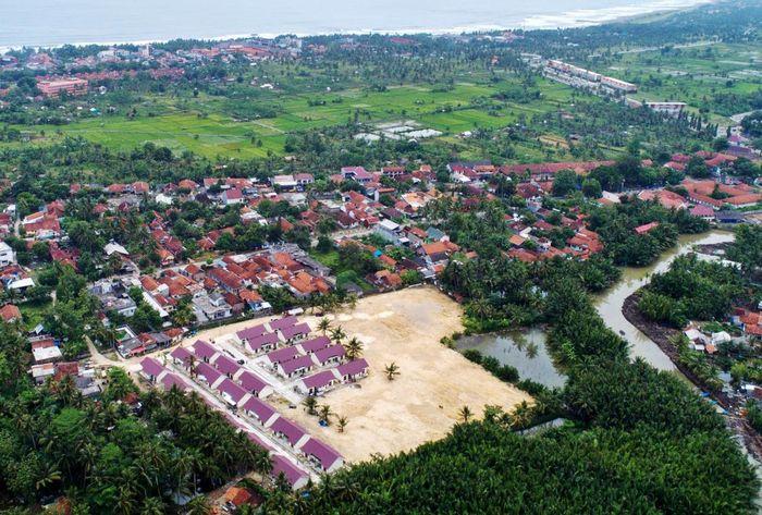Rumah nelayan yang dibangun berada di Desa Mesawah sebanyak 104 unit dan 50 unit di Desa Pangandaran. Tahun 2018 akan dibangun lagi 50 unit rumah khusus di Desa Pangandaran. Istimewa/Kementerian PUPR.