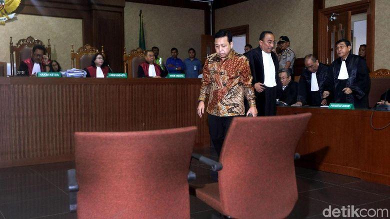 KPK Tangkap Tangan Detail: Keputusan Banding Vonis Novanto Ada Di Tangan Pimpinan KPK