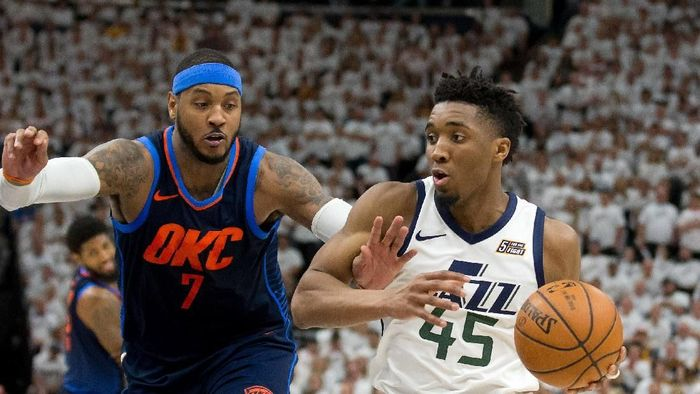 Utah Jazz selangkah ke semifinal playoff Wilayah Barat (Russ Isabella-USA TODAY Sports)