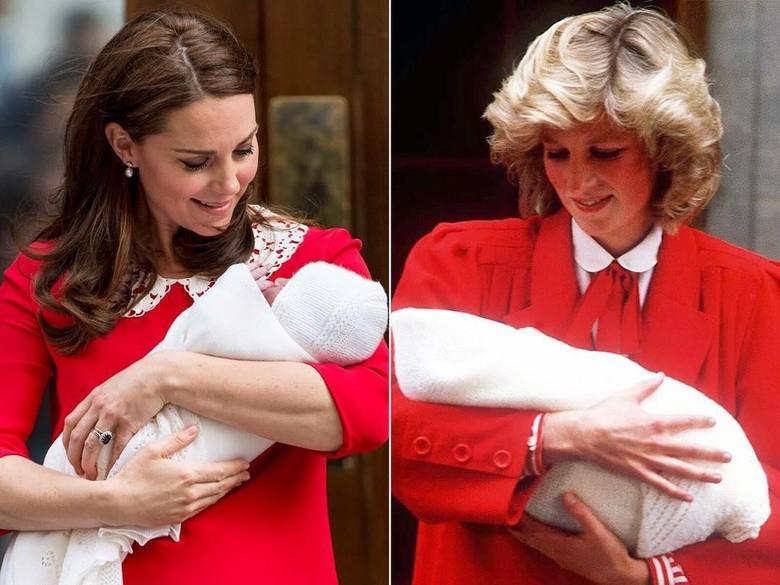 Foto: Kate Middleton dan Putri Diana (Dok. Getty Images)