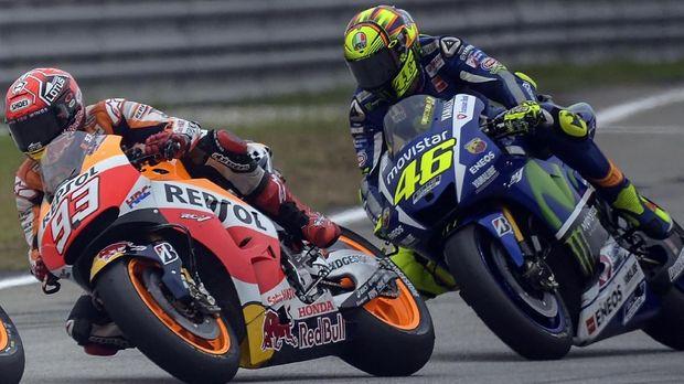 Marc Marquez tidak ingin terganggu dengan perang urat saraf yang dilakukan Valentino Rossi.