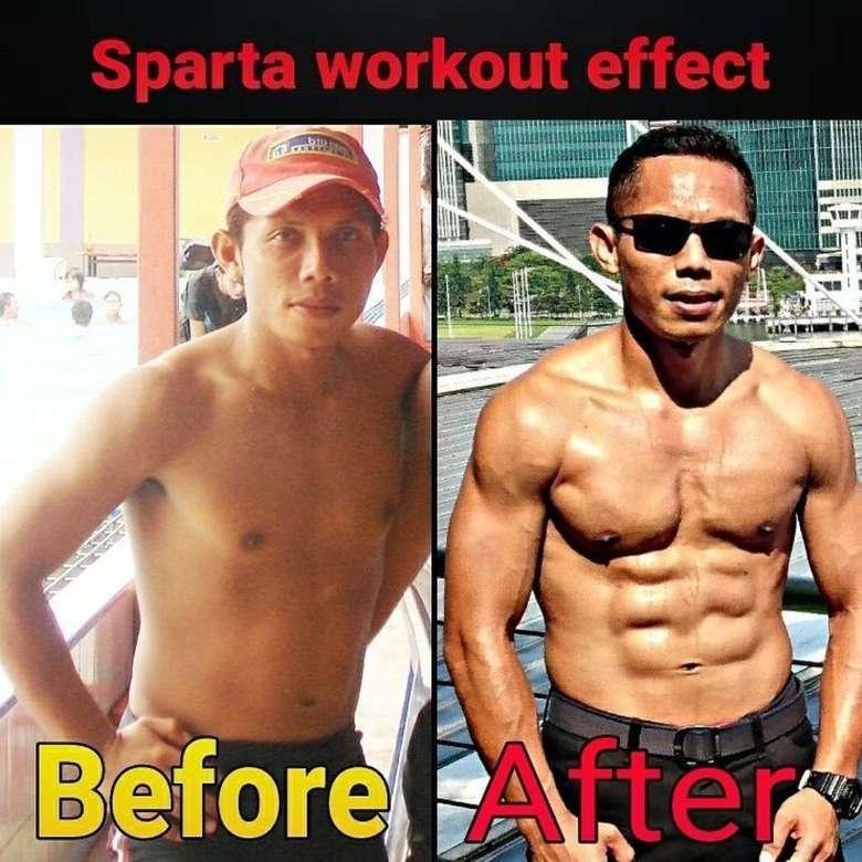 Lihat transformasi otot tubuh Mayor Eka. (Foto: Instagram/eka_wira_kingofsparko)