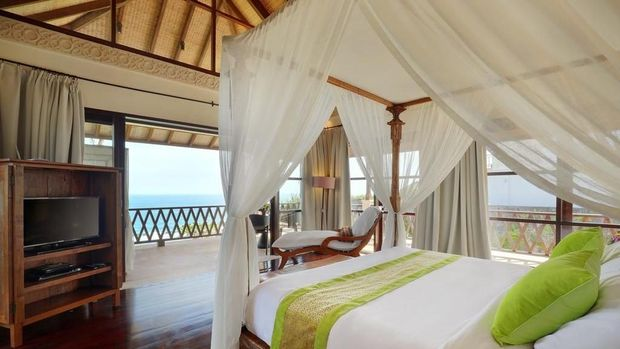 Kamar tidur utama (Booking.com)