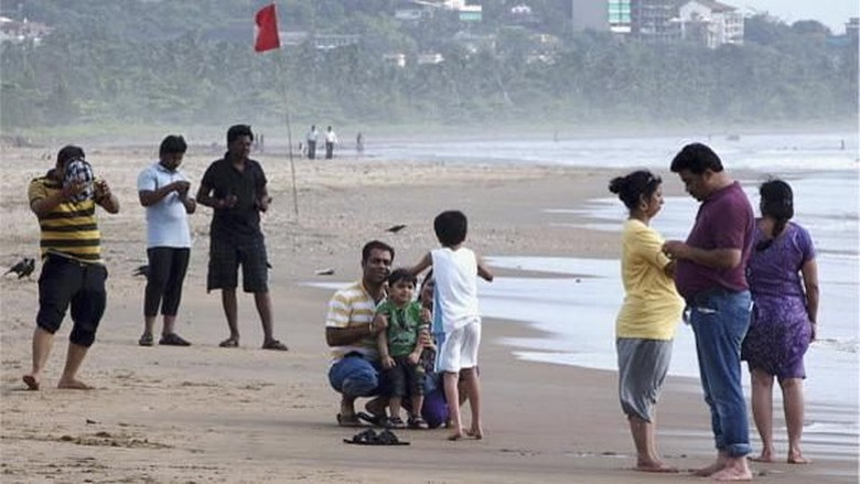 Ilustrasi turis India (Reuters)