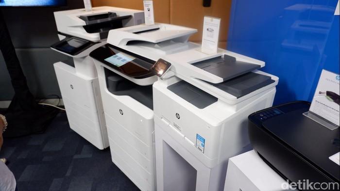 Printer Hewlett Packard. Foto: Adi Fida Rahman/detikinet