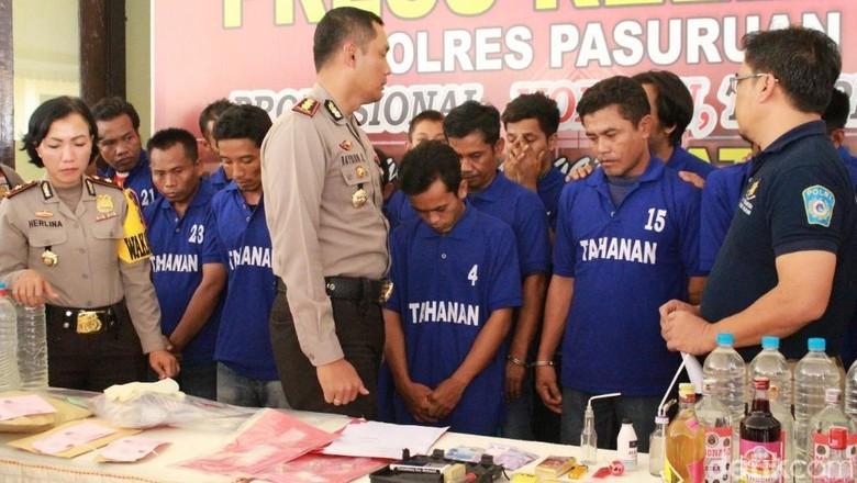 Oknum Anggota Polres Probolinggo Dibekuk Edarkan Sabu