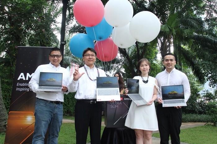 Suasana peluncuran laptop baru Lenovo. Foto: Lenovo