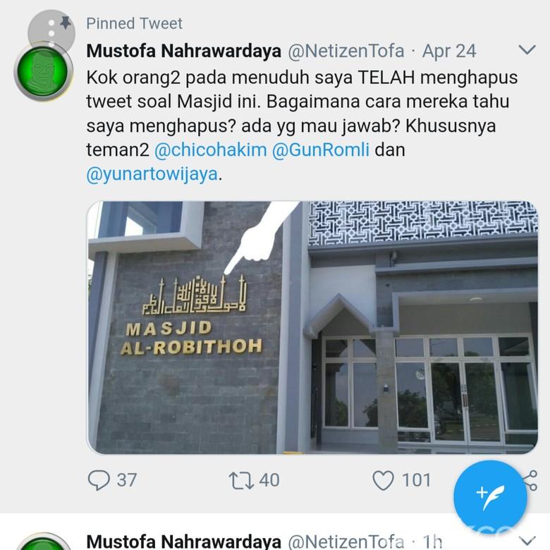 Viral, Kaligrafi di Masjid Bandara Abdulrachman Saleh Mirip Salib