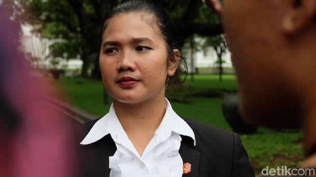 Sertu Vera, salah satu Paspampres perempuan yang kawal Jokowi /