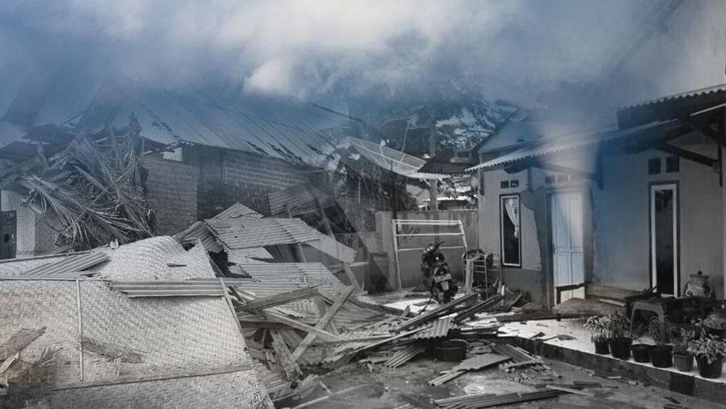 Puting Beliung Terjang Manggarai Barat, 60 Rumah Warga Rusak Total