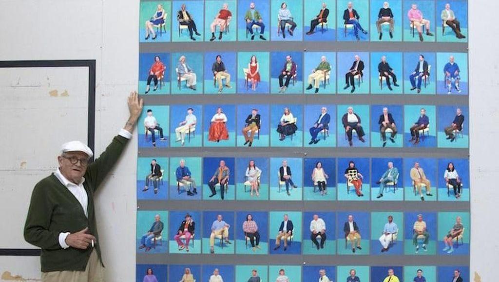 Fantastis! Lukisan Davic Hockney akan Dilelang Rp 1,2 T