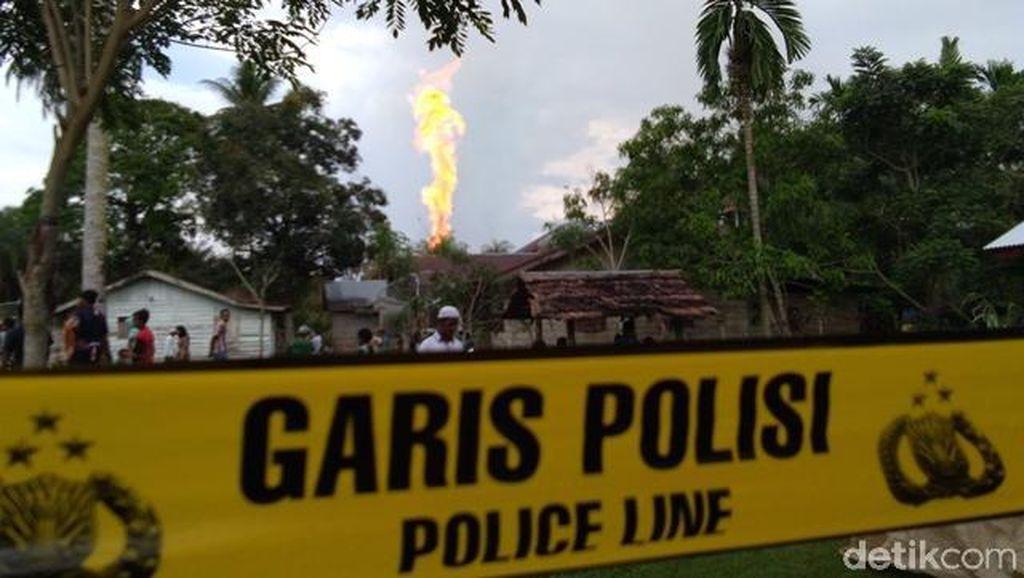 Sudah Sepekan, Ini Kendala Padamkan Kebakaran Sumur Minyak Ilegal di Jambi