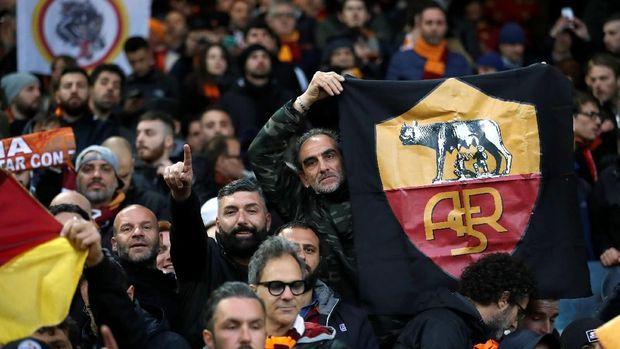Suporter AS Roma akan memberikan dukungan penuh di Stadion Olimpico.