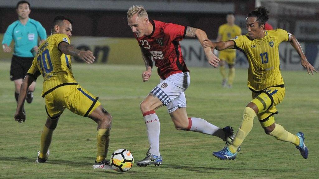 Bali United Akhiri Fase Grup dengan Kekalahan