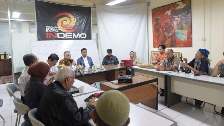Ketum PPP dan Hariman Siregar Diskusi soal Cawapres Jokowi