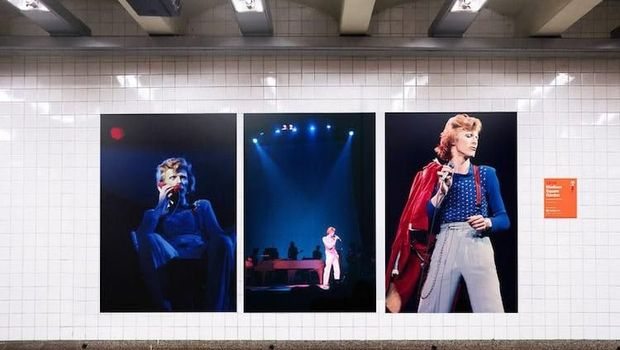 Karya Seni David Bowie 'Intervensi' Subway di New York